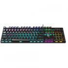 Aula Retribution Mechanical keyboard, with cable, EN, Red switch, USB, Black