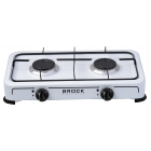 BROCK Gas Cooktops with double burners GS 002 W