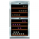 Caso Wine cooler Wine Master 66 Free standing, Showcase