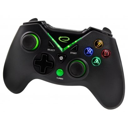 Gamepad Esperanza Egg112k Pc Android Ps3 Xbox One Black Green