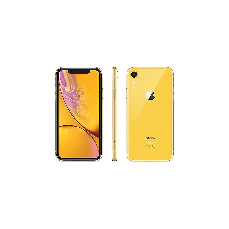 Apple Iphone Xr 64gb Dual Sim Yellow Mry72zd A Uk Merchandise