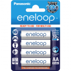 Eneloop Rechargeable Battery 4x AA BK-3MCCE-4BE (1900mAh)