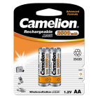 Camelion Rechargeable Batteries Ni-MH AA (R06), 2500 mAh, 2-pack