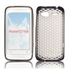 Forcell HTC C110E Radar Silicone Back Case Lux Transparent/Black