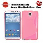 Telone Back Case S-Case silicone case Samsung N750 Note 3 Neo Pink