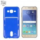 Roar Card Pocket Jelly Ultra Thin Back Case Samsung J500F Galaxy J5 with card slot Blue (EU Blister)