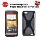 Telone Back Case X-Case silicone case HTC One V Black