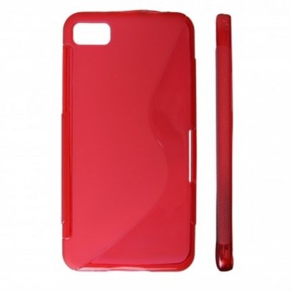 new concept bd4cf 6c22a KLT Back Case S-Line Sony Xperia ION LT28h silicone/plastic case Red