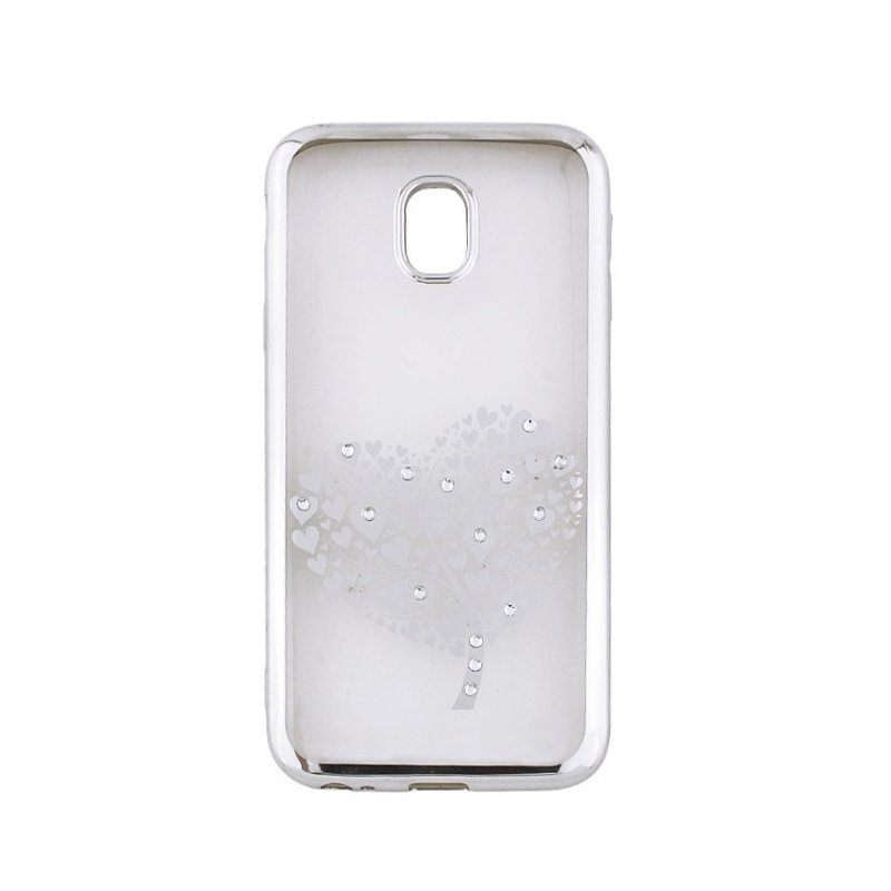 a1ec5838b5f9 ... Beeyo Glamour Series Hearts Tree TPU Clear super thin Back cover case  for Apple iPhone X ...