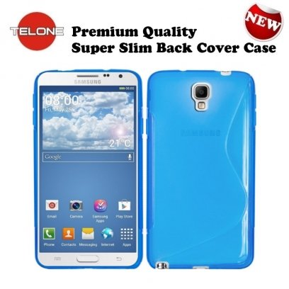 21ffcf84b7441d Telone Back Case S-Case silicone case Samsung N750 Note 3 Neo Blue - Frog.ee