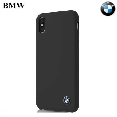 100% authentic 47f80 f26f0 BMW BMHCPXSILBK Ultra thin TPU hard back cover case for Apple iPhone X /  iPhone 10 / iPhone XS Black
