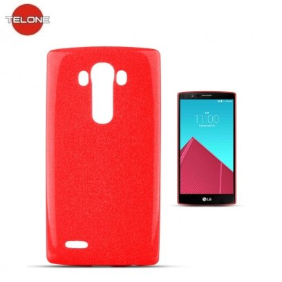 newest 459ed 12e24 Telone Candy Ultra Slim 0.3mm Shine Jelly Back Case LG G4 Stylus H635 Red