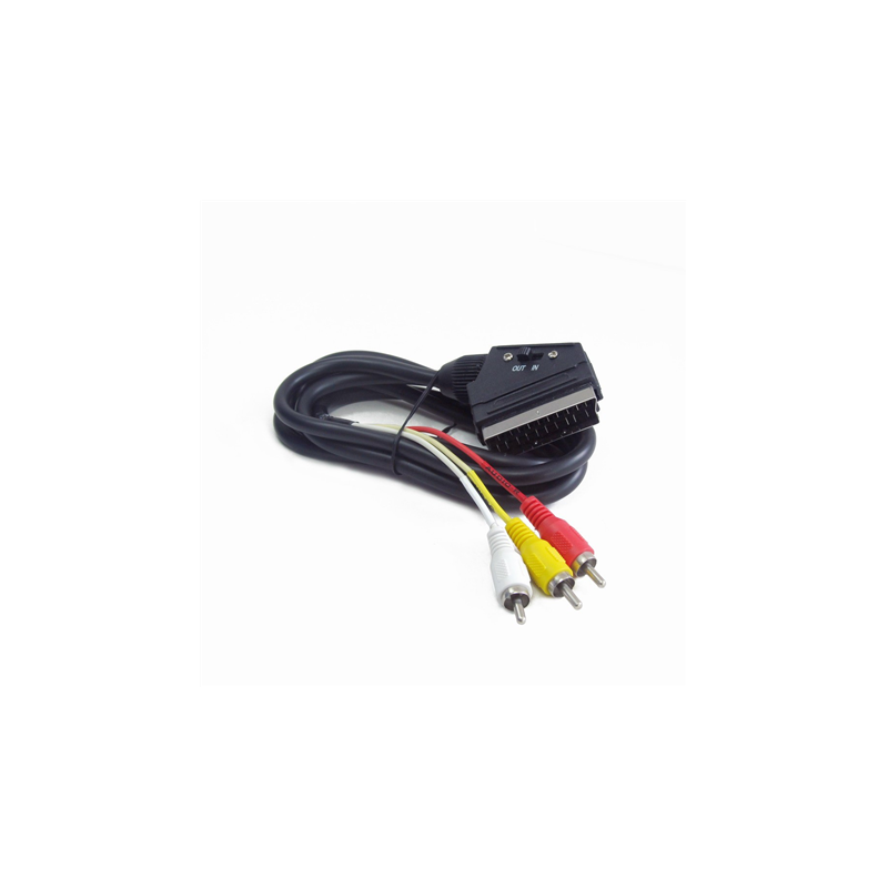 5b159e022f5 Cablexpert SCART/3 x RCA 1.8 m - Frog.ee