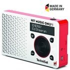 TechniSat DIGITRADIO 1 Energy Edition DAB + FM digital radio red-silver