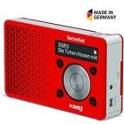 TechniSat DIGITRADIO 1 SWR3 Edition DAB + FM digital radio red-silver