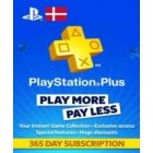 Playstation Network Card (PSN) 365 days (Denmark)