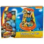 Blaze and The Monster Machines playland round ball pit with 20 balls