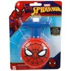 Spiderman evergreen spinning light toy