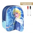 Frozen backpack with drawing layer