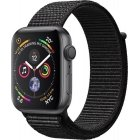 Apple Watch Series 4 GPS Aluminum Space Gray Black, Sportloop, MU6E2FD / A, 44mm