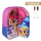 Shimmer and Shine backpack with drawing layer