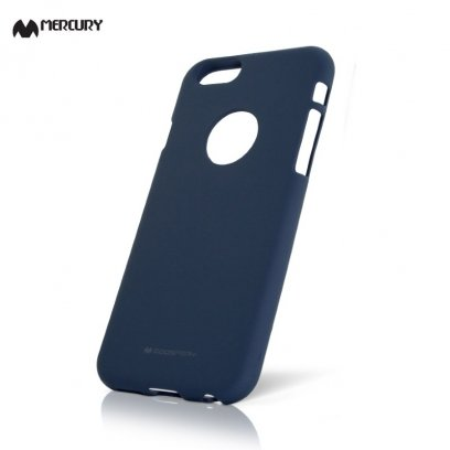 huge selection of c17e0 1e45b Mercury Soft feeling Super Thin TPU Matte surface back cover case for Apple  iPhone 7 / 8 (4.7inch) Midnight blue