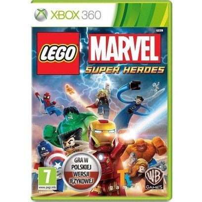 Game Lego Marvel Super Heroes Pl Box Pl Version For 7 Years Frogee