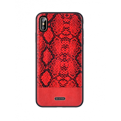 buy popular a0756 52e60 Devia Python Silicone Back Case Apple iPhone XS Max Red