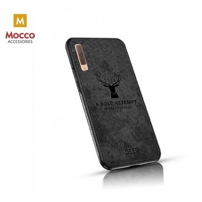 online store 013bd 759a1 Mocco Deer Silicone Back Case for Samsung A750 Galaxy A7 (2018) Black (EU  Blister)