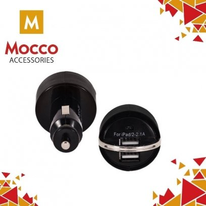 Mocco Premium Universal Car charger 2.1A / 1A Black