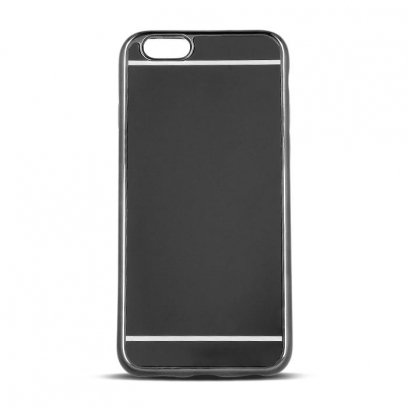 the latest 93344 9637e Beeyo Mirror Silicone Back Case With Mirror For Apple iPhone 7 / 8 Black