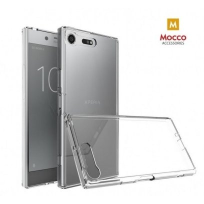 buy online 1896f a75d3 Mocco Ultra Back Case 0.3 mm Silicone Case for Sony Xperia XA1 Plus  Transparent
