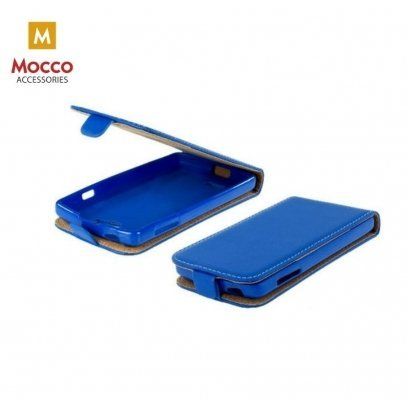 new products 4ed14 be2bc Mocco Kabura Rubber Case Vertical Opens Premium Eco Leather Mouse Xiaomi  Redmi Note 5 Pro / AI Dual Camera Blue