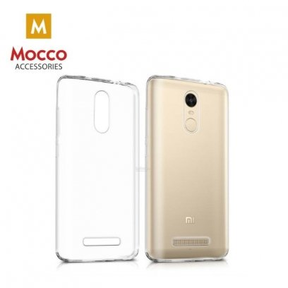 sneakers for cheap 1de24 06bcd Mocco Ultra Back Case 0.3 mm Silicone Case for Xiaomi Redmi 4X Transparent