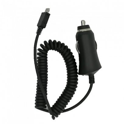 HQ Premium Car charger 1A + micro USB cable Black