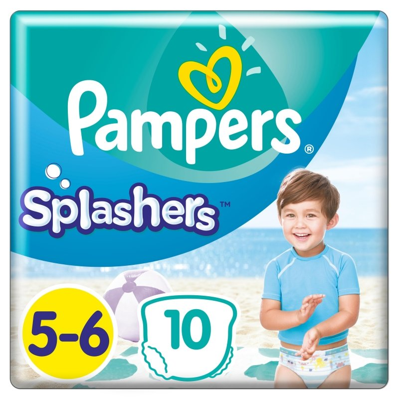 Pampers diapers Splashers S5 10pcs