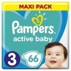 Active Baby Diaper Dry Pampers Pack S3 66tk