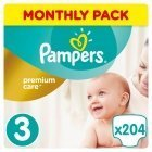 Pampersi mähkmed Premium Monthly Box S3 204