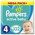 Active Diaper Baby Dry Mega Packs Plus Maxi 132pcs