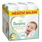 Pampersi mähkmed Premium Monthly Box S5 136