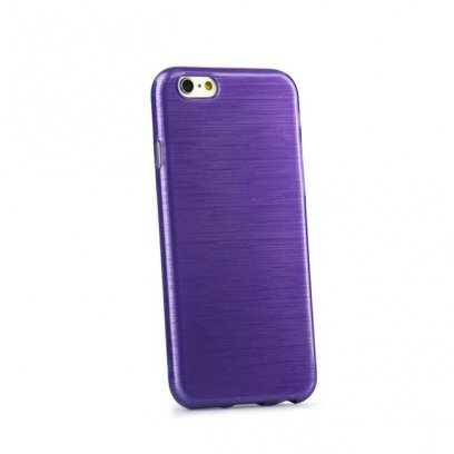 Forcell Jelly Brush Pearl Back Case Samsung A500 Galaxy A5 Violet