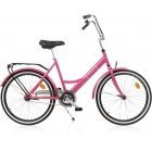 "Baana Suokki 24 ""bicycle, 1-speed, pink"