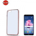 Huawei Back Case for Huawei P Smart (Clear/Rose Gold)