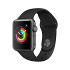 Apple Watch S3 38mm Sport (Space Gray Aluminium/Black)