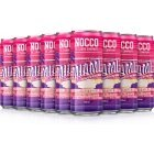 NOCCO BCAA Miami Strawberry Summer Edition 2019 Energy Drink, 330ml, 24-PACK