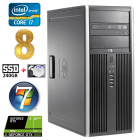 HP 8100 Elite MT i7-860 8GB 240SSD+2TB GTX1650 4GB DVD WIN7Pro