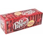 Dr Pepper Cherry Vanilla USA Soft Drink, 355 ml, 12-PACK