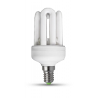 Economic bulb 4xU-tube, 9W 42 RFL
