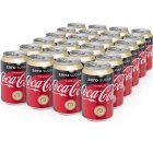 Coca-Cola Vanilla Zero Soft Drink, 330 ml, 24-PACK